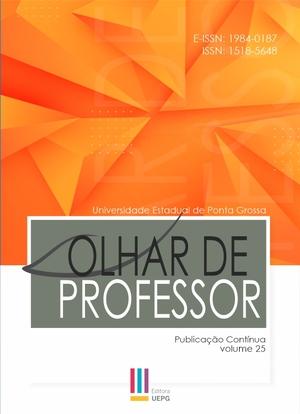 Capa da revista em fundo com as cores azul vermelho e verde, com logotipo da revista em fundo cinza e as informações sobre o caderno temático e ano de publicação.