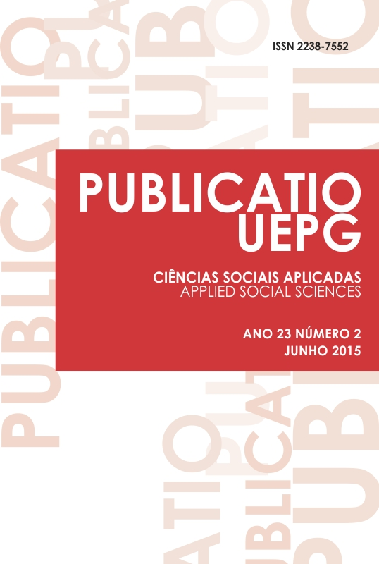 Vol. 23, No 2 (2015): Sociedade Global: Movimentos Sociais