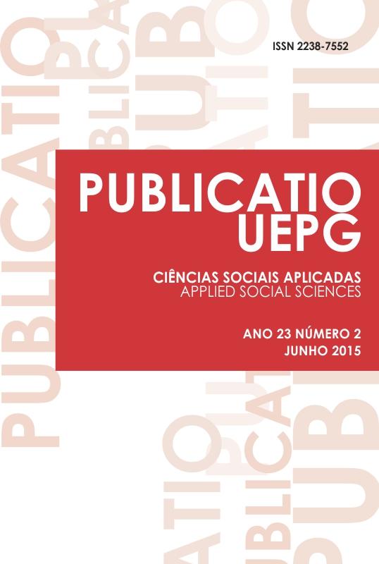 Vol. 23, No 2 (2015): Sociedade Global: Movimentos Sociais