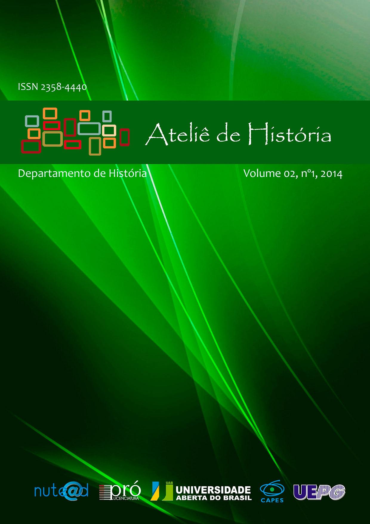 Ateliê de História UEPG v.2, n.1 (2014)
